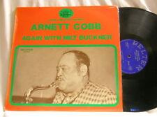 ARNETT COBB Again With MILT BUCKNER Clarence Gatemouth Brown Michael Silva LP