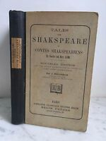 Tales From Shakspeare O Cuentos Shakspeariens J. Fougeron Belin Hermanos
