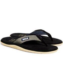 Brand NEW Noah x Island Slipper sandals Black Suede Flip Flop Size 9 men Hawaii