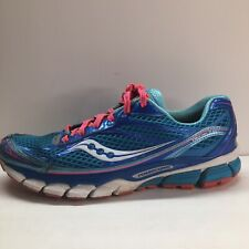 New listing Saucony Ride 7 Womens Athletic Running Sneaker Training Gym Shoe Blue Size 9