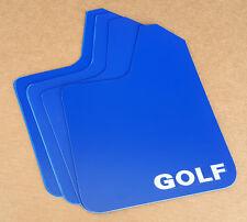 StreetRays 15-17 VW Golf / GTI MK7 Mud Flaps STARTER Set BLUE w/ Vinyl Logo