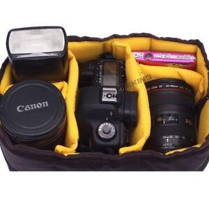 Selens DSLR Camera Bag Shockproof Removable Padded Insert Divider Partition Case