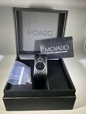 Preowned Movado Women Watch Stainless Steel 24mm Box/paper SWISS $895