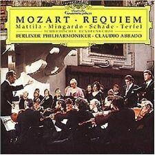 TERFEL/MATTILA/ABBADO/BP - MOZART-REQUIEM KV 626/+  CD  16 TRACKS NEU