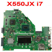 For Asus X550J X550JX X550JK Motherboard With i7 CPU Mainboard 4GB GTX 950M DDR3