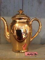 VINTAGE/RETRO ROYAL WORCESTER GOLD LUSTRE GLAZE  TEA / COFFEE POT