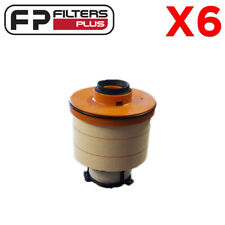 6 x FKN1502 Fuel Filter Hilux & Fortuner 2.8L & 2.4L 233900L070 R2777P WCF290