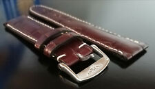 LONGINES CINTURINO ORIGINAL STRAP COCCODRILLO MASTER COLLECTION mm.20 + BUCKLE
