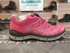 LOWA Aerox GTX Lo Ws Berry/Silver Women's Multisport Shoes UK 5