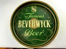 Vintage Beer Tray Beverwyck Best Brewed Beer