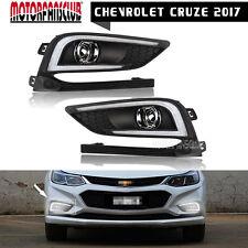 For Chevrolet Cruze 2017 LED DRL Daytime Running Lights 2Pcs White Driving Lamp