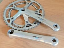 Shimano 600 42/52T Alloy Chainset with Biopace Chainrings, Classic Bicycle