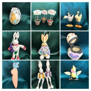 ASSORTED EASTER ORNAMENTS - YOU CHOOSE!