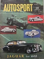 AUTOSPORT magazine 24/12/1954 Vol.9, No.26