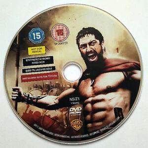 300 (DVD) Disc Only - (2006) - Gerard Butler - Lena Headey - Battle - Sparta