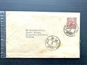 CHINA/PRC : Very Old Cover to Canada,  LIECHOW  Pmk.
