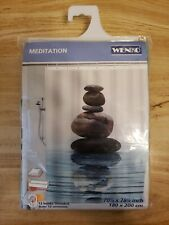 Wenko Meditation Shower Curtain