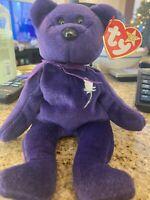 RARE PE PRINCESS (Diana) Bear 1997 Ty Beanie Baby Original MINT!!! Make Offers