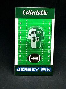 Philadelphia Eagles Brian Westbrook jersey lapel pin-Classic Retro Collectable