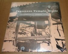 JAPANESE TEMPLE MUSIC Zen, Nembutsu & Yamabushi Chants Lyrichord LL 7117 SEALED