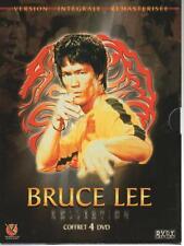 Bruce Lee Collection coffret 4 DVD big boss fureur vaincre dragon jeu de la mort
