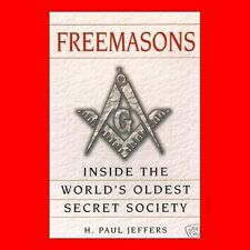 √FREE MASONS MASONIC BOOK:MASONRY,FREEMASON,OLDEST SOCIETY,VG,HISTORY,BACKGROUND