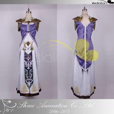 EE0079AB The Legend of Zelda Princess Zelda Cosplay Costume