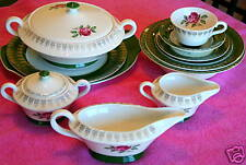 Limoges (American Beauty Rose) GRAVY BOAT - other items avail as well