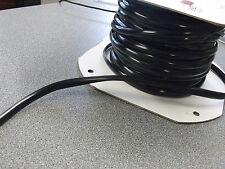 CARAVAN/MOTORHOME PVC RAIL INFILL STRIP 11MM X 50M  - BLACK