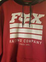 Fox racing hoodie men