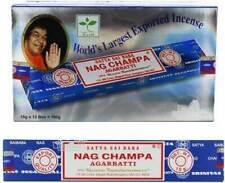 Incenso Satya Nag Champa Sai Baba -- Box 12 confezioni da 15 g