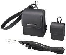 Genuine Sony Black Leather Carrying Storage Case For DCR-IP1 Handycam Camcorder