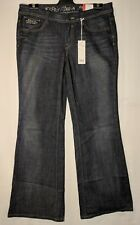 """WOMEN'S JEANS ESPRIT FLARED STRETCH SIZE 12 LEG 32"""" NWT RRP $129.00 FREE POSTAGE"""
