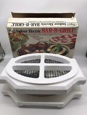 Dazey Indoor Electric Bar-B-Grill 1100 Watts USA Vintage VTG