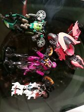 Transformers lot 4 motorcycle various series Movies, Universe? RC, Arcee etc...