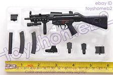 1:6 scale ZY TOYS 8042 SUB-MACHINE GUN MP5A4 RAS IN STOCK