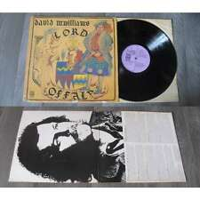 DAVID McWILLIAMS - Lord Offaly LP ORG UK Dawn Record Psych Folk 1972