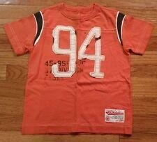 OLD NAVY Orange Short Sleeve T Shirt Top Boy's Size XS 5