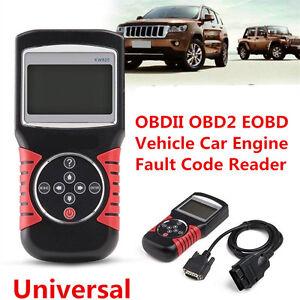 KW820 OBDII OBD2 EOBD Vehicle Car Engine Fault Code Reader Diagnostic Scanner