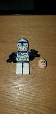 Lego Star Wars Minifigure - Clone Captain Rex (75012). Diff head and legs