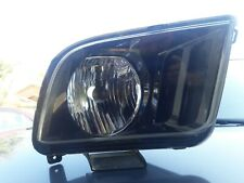 FOR 2005-2009 FORD MUSTANG  BLACK HOUSING CLEAR CORNER HEADLIGHT right side