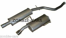 PEUGEOT 206 2.0 Gti Gti-s 99-01 EXHAUST CENTRE & REAR SILENCER MIDDLE BOX