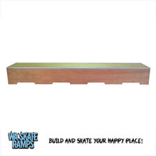 Skate Ledge / Grind Box 8ft/2.4m Long Skateboards/Scooters/BMX - WA Skate Ramps