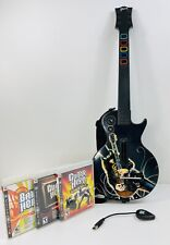 PS3 Red Octane Activision Guitar Hero Official Wireless Les Paul
