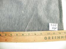 Gray Black Print Chenille Upholstery Fabric R104
