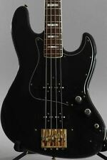 1977 Fender Jazz Bass Black ~Aero Pickups~