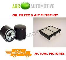 PETROL SERVICE KIT OIL AIR FILTER FOR DAEWOO MATIZ 1.0 64 BHP 2002-05