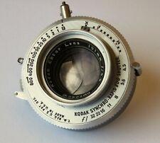 Kodak Ektar 101mm f4.5 lens in Synchro Rapid 800 shutter