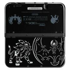 Nintendo New Nintendo 3DS XL Solgaleo Lunala Black Edition Gaming System