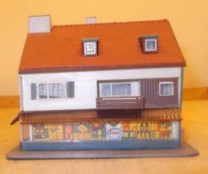 Kibri Spur N B - 7120 Wohn- und Geschäftshaus fertig gebaut